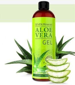 Aloe Vera Gel Bottle