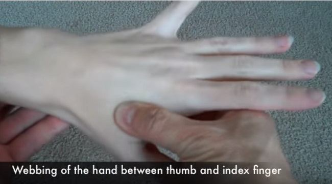 Best Pressure Points For Headache In Hand