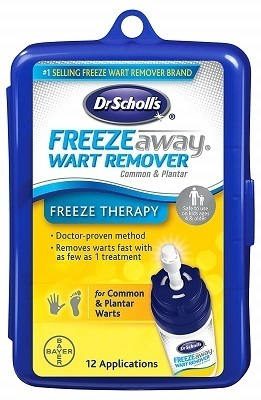 Dr. Scholls FreezeAway Wart Remover Over-The-Counter Product