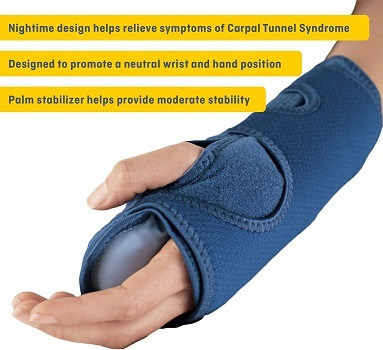 Futuro best carpal tunnel syndrome brace for sleeping