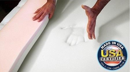 Snuggle Pedic Memory Foam Topper for Hip Pain